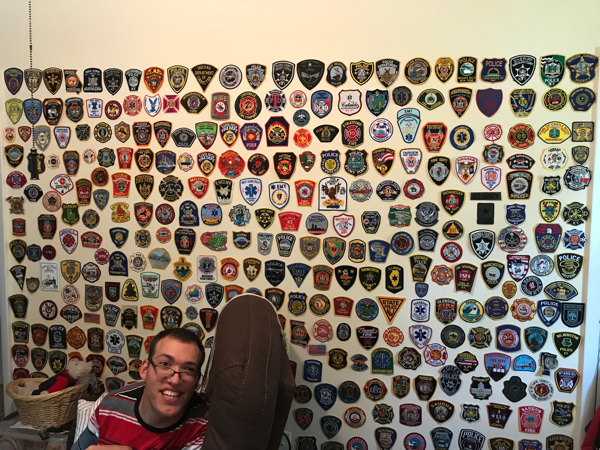 Brock Hathaway patch collection