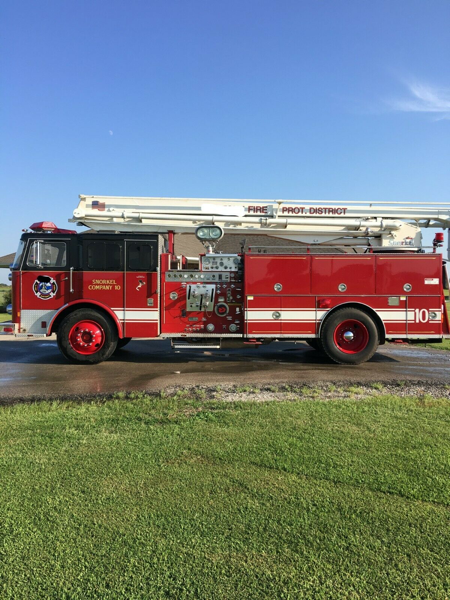 Former Peotone FPD (IL) X-Normal, IL 1980 Seagrave/RPI 55' Snorkel for sale on EBAY