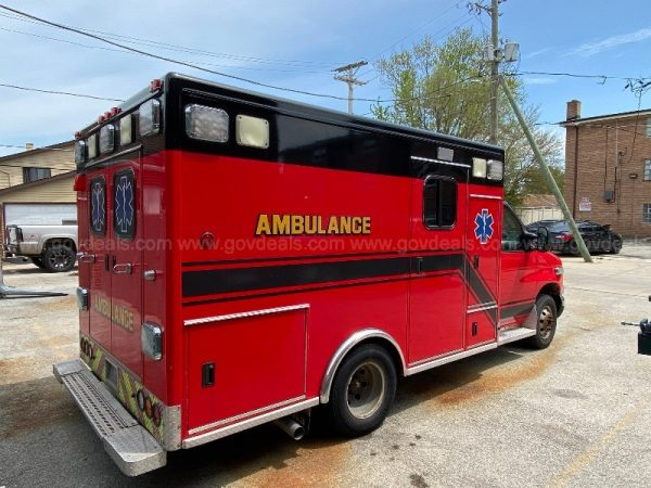 Merrionette Park FD ambulance for sale