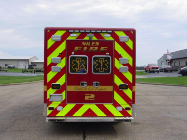 Niles FD Ambulance 2