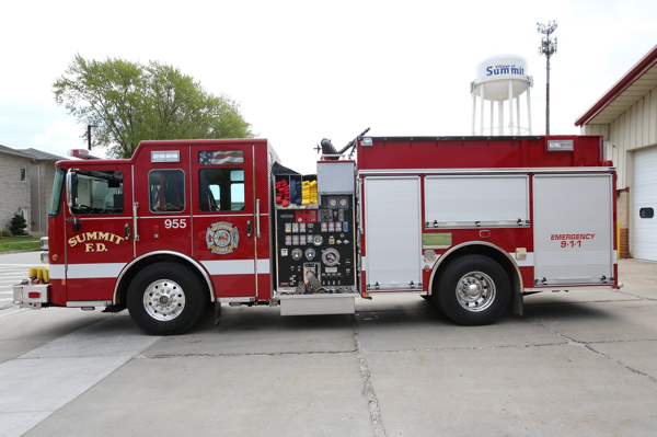 2019 Pierce Saber pumper