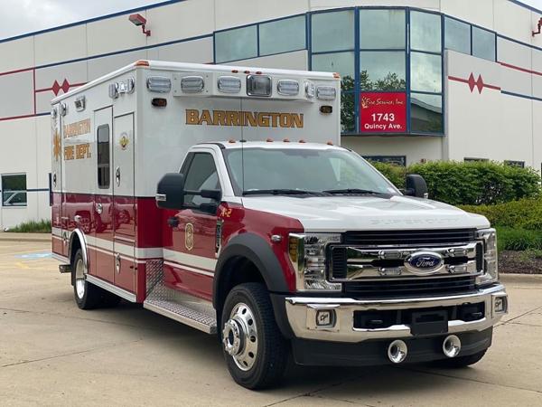 new Ford/Wheeled Coach Type I ambulance