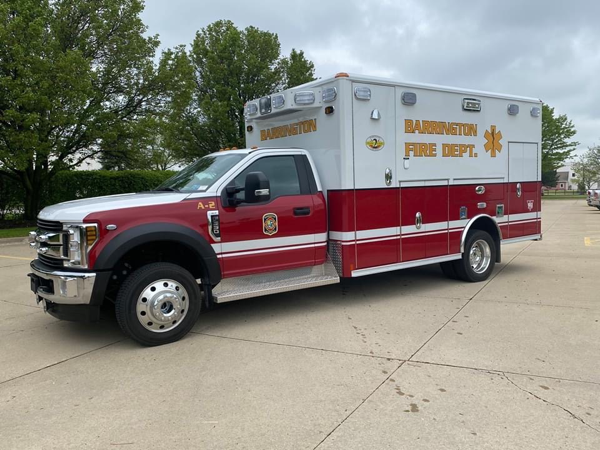 new Ford/Wheeled Coach Type I ambulance