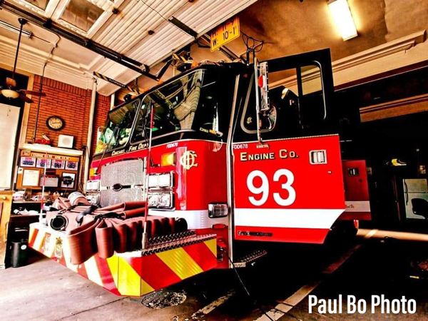 new E-ONE fire engine in Chicago