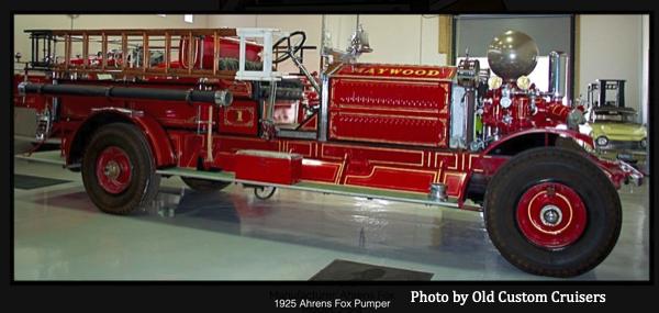 former Maywood FD Ahrens Fox pumper