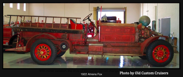 former Chicago FD Ahrens Fox piston pumper