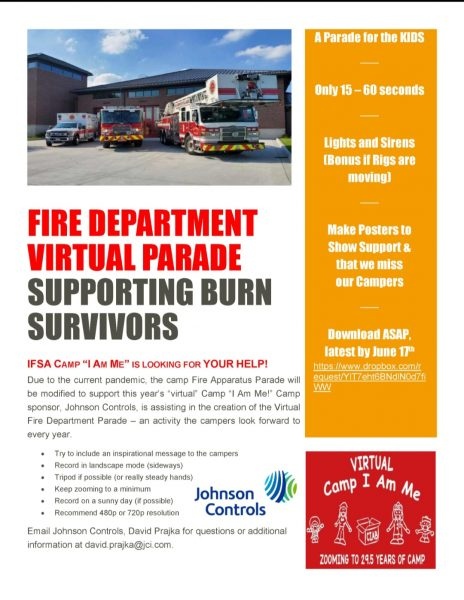 "Illinois Fire Safety Alliance (IFSA) camp for children that are survivors of burn injuries – Camp ""I Am Me"""