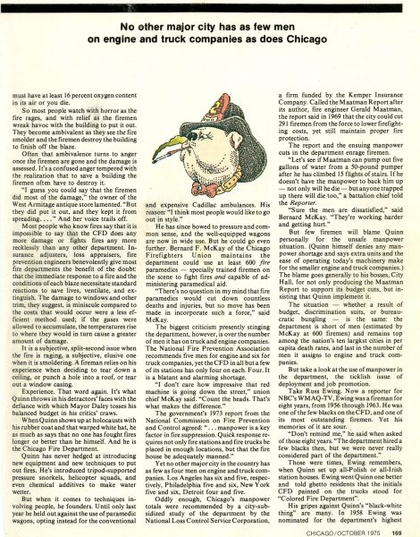 Chicago Magazine October  1975