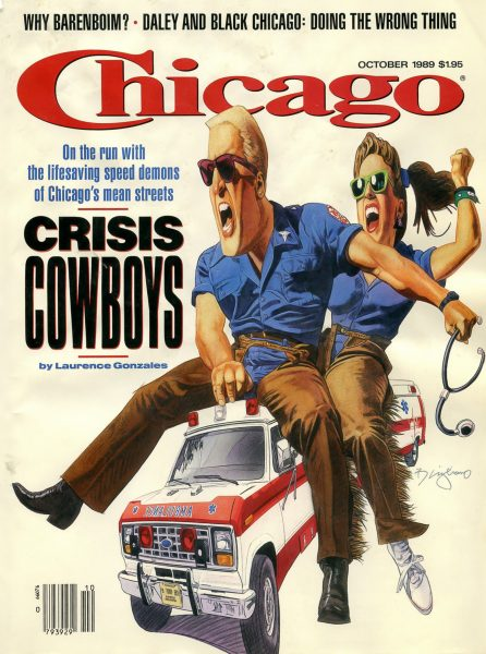 Chicago Magazine cover October 1989