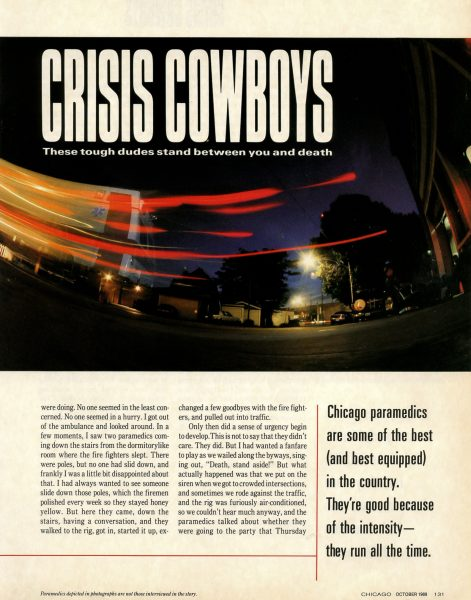 Chicago Magazine October 1989
