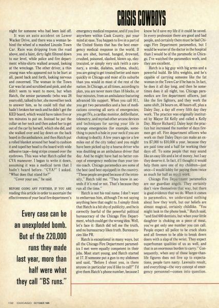 Chicago Magazine October 1989