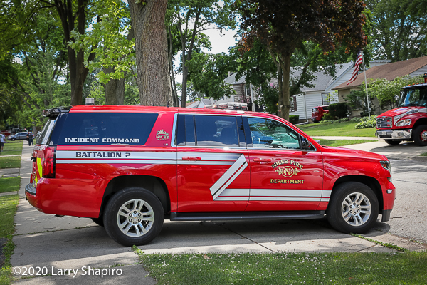 fire chief Chevy Suburban