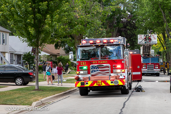 Des Plaines fire engine