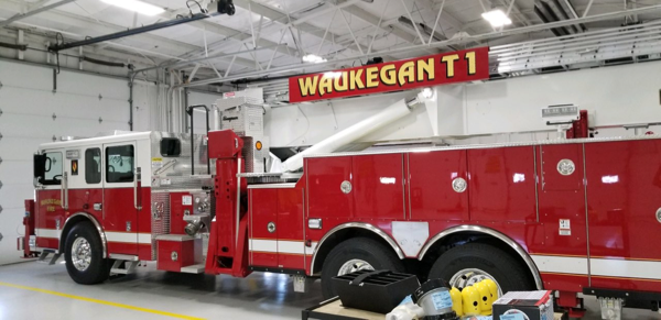 Seagrave Aerialscope 95 for Waukegan FD