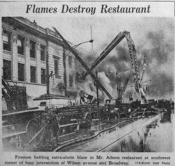 3-11 Alarm fire in Chicago 11-21-63