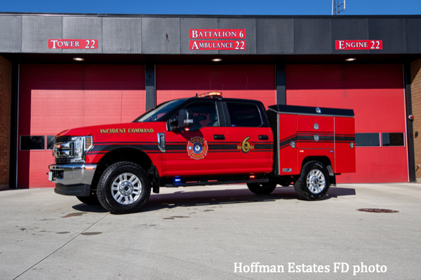 pickup ruck for battalion chief
