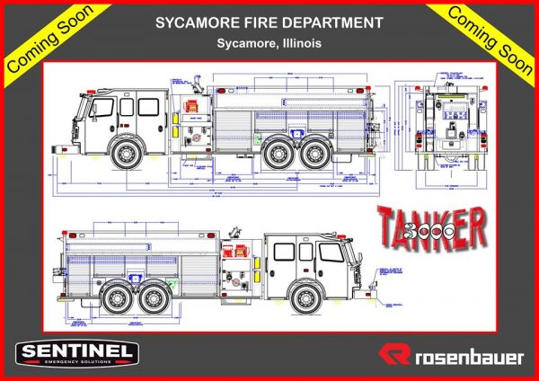 fire truck drawing