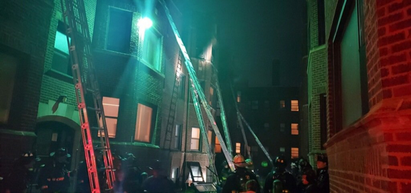 2-11 Alarm fire in Chicago 6-13-20
