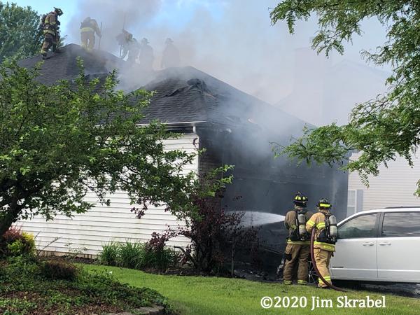 house fire in Joliet IL