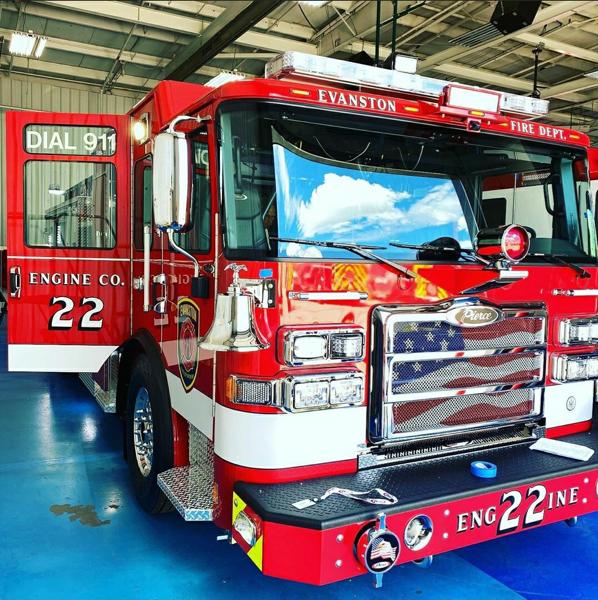 Evanston FD Engine 22