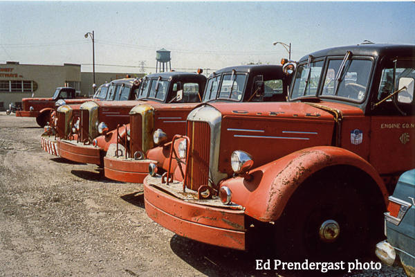 worn out cChicago fire engines