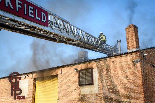 commercial building fire in McCook 5-24-20
