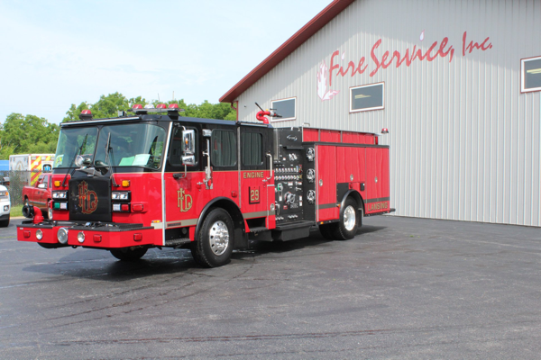 2020 E-One Typhoon pumper