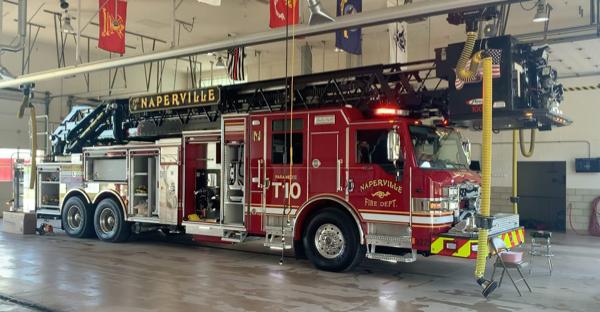 Naperville FD Truck 10