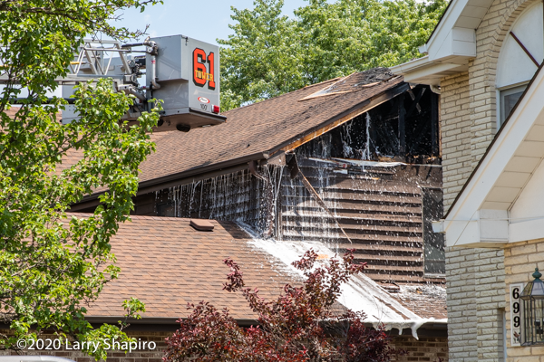 foam used at house fire