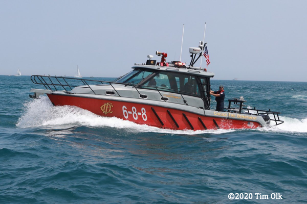 Chicago fire3 boat