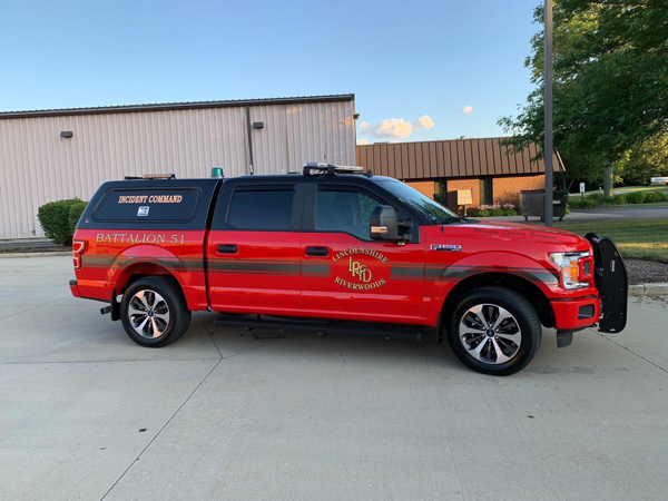 pickup truck for battalion chief