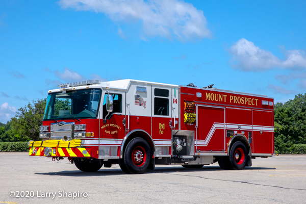 2019 Pierce Dash CF PUC pumper