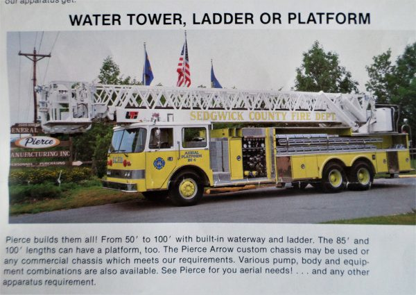 Pierce Ladder Tower brochure