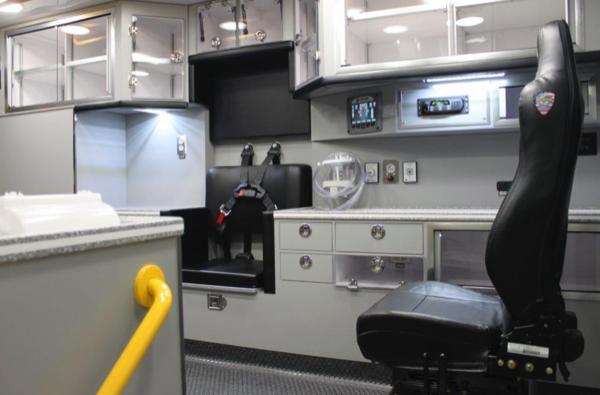Life Line Superliner Type I ambulance