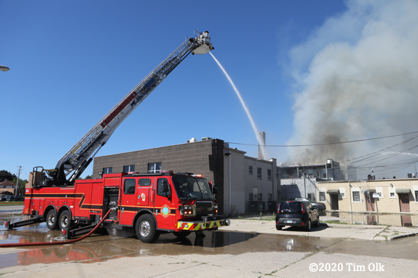 Kenosha Fire Department 2-Alarm fire at 6217 22nd Ave, 8/12/2