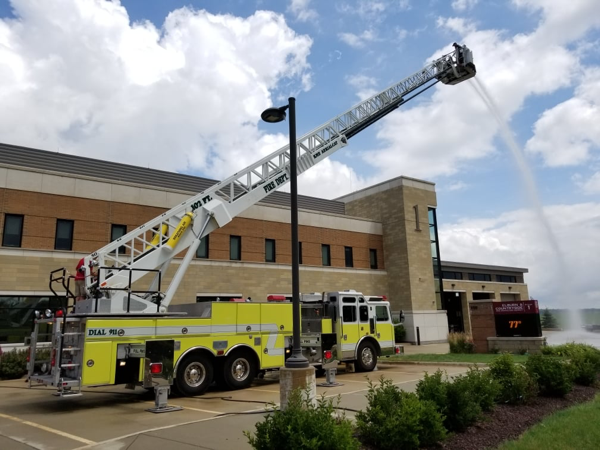 new fire truck for the Elburn & Countryside FPD