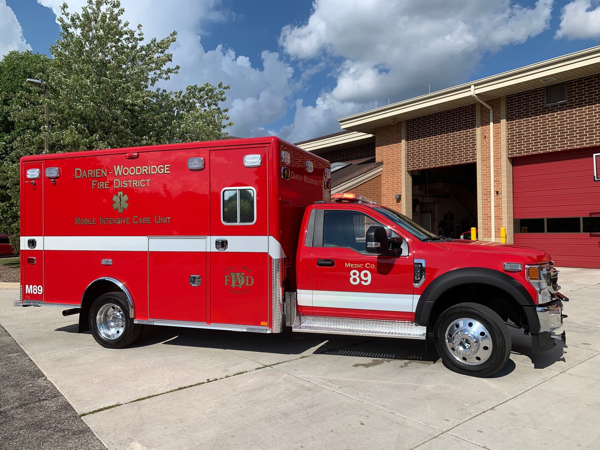 Horton Type I ambulance on Ford F550 chassis