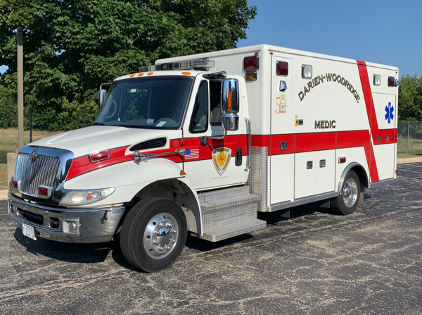 2012 IHC4700/Lifeline ambulance