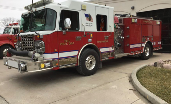 2010 Spartan Gladiator/Alexis Fire engine for sale