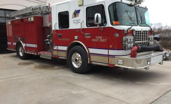 Manhattan FPD fire engine for sale