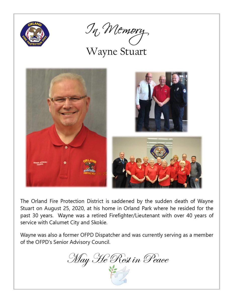 Wayne L. Stuart January 27, 1949 - August 25, 2020