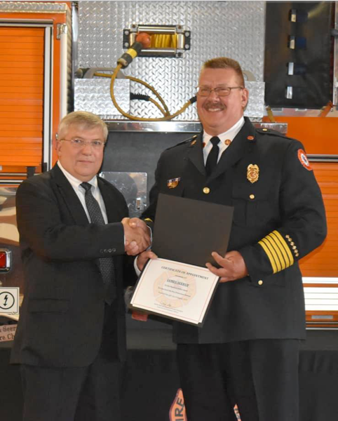 new Coal City FPD fire chief