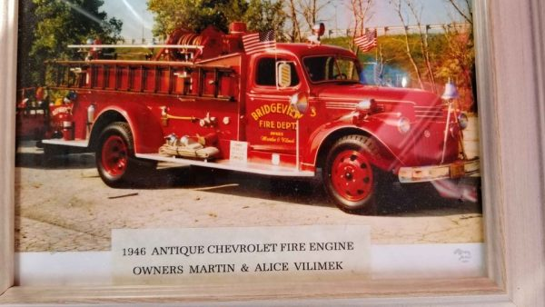former Bridgeview FD 1946 Chevrolet Fire engine for sale