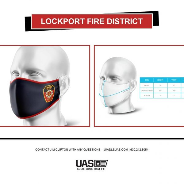 fire department selling face masks during pandemic