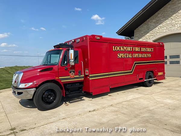 IHC/Hackney fire truck squad