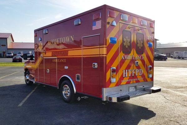 Hometown FPD Ambulance 472
