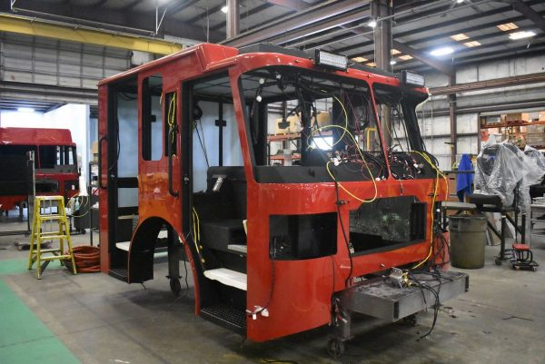 Ferrara Igniter pumper being built H-6765