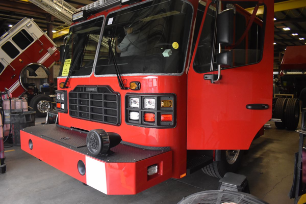 fire engine being built for the West Chicago FPD