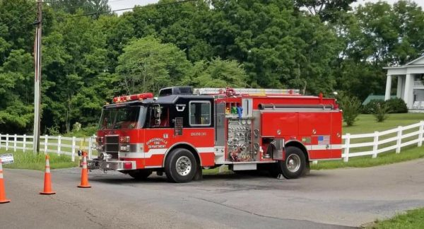 former Wheaton FD fire engine in Tennessee