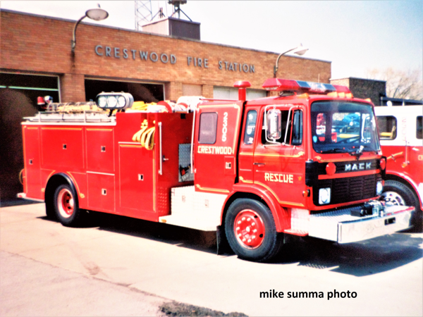 Crestwood Fire Department history